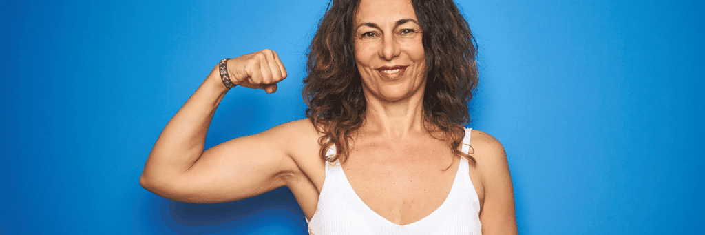 Women lose 50% muscle mass between the ages of 40 and 80.
