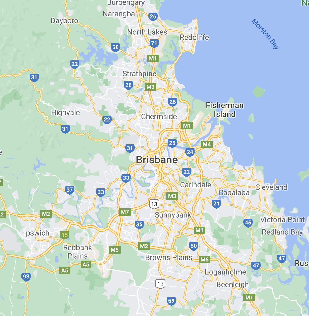 Brisbane Clothesline Delivery and Installation Service Area