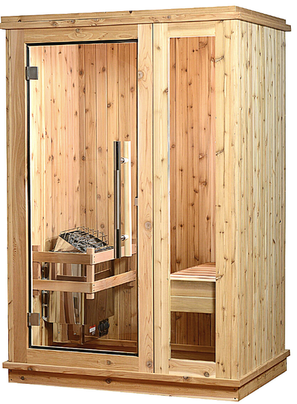 Almost Heaven Logan 1 Person Indoor Sauna