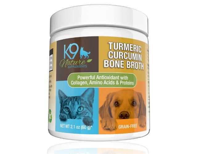 Turmeric Curcumin Bone Broth for Pets