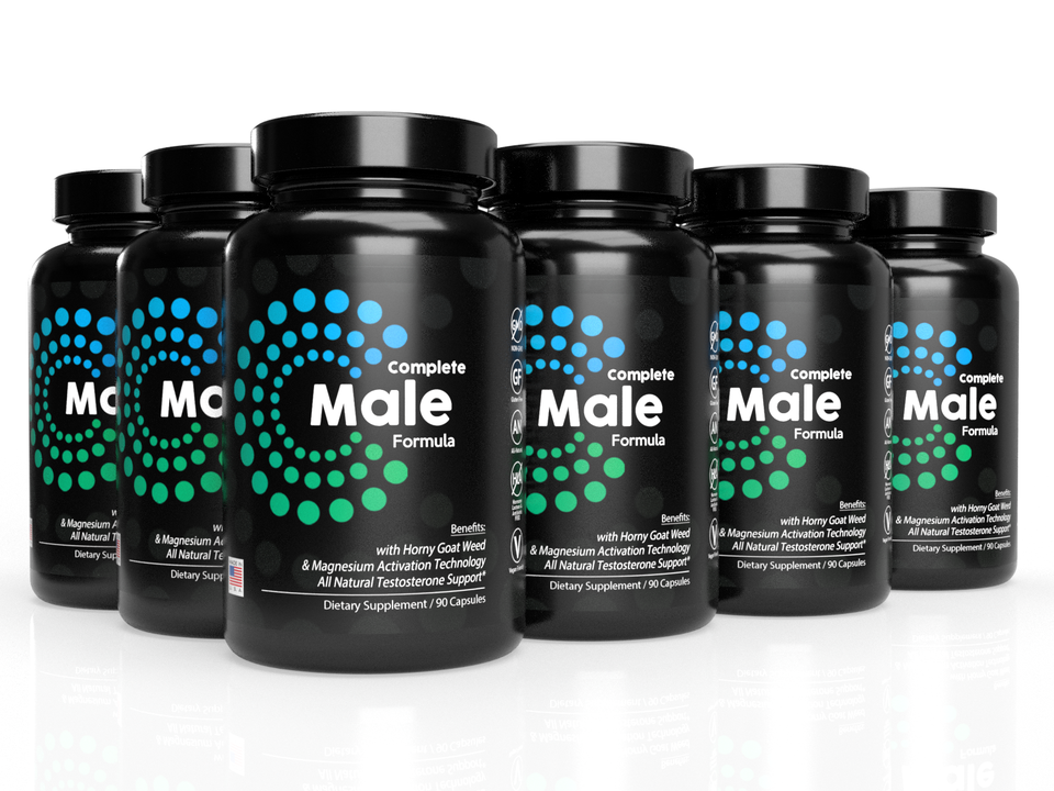 6-Pack: Complete Male Formula