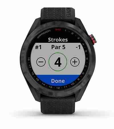 Garmin Approach S42 GPS Watch Score Tracker