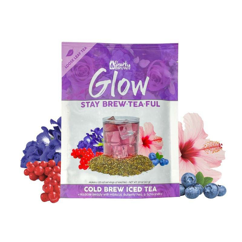 SnarkyBRUW Stay Brew-Tea-Ful - Hydrating Loose Leaf Tea
