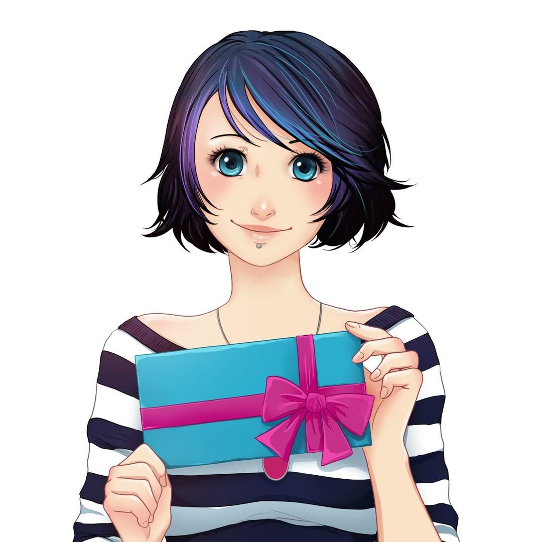 Anna Blue Free Gift Card