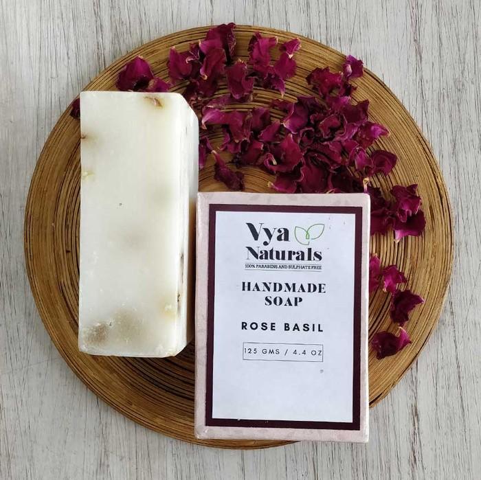 ROSE BASIL SOAP
