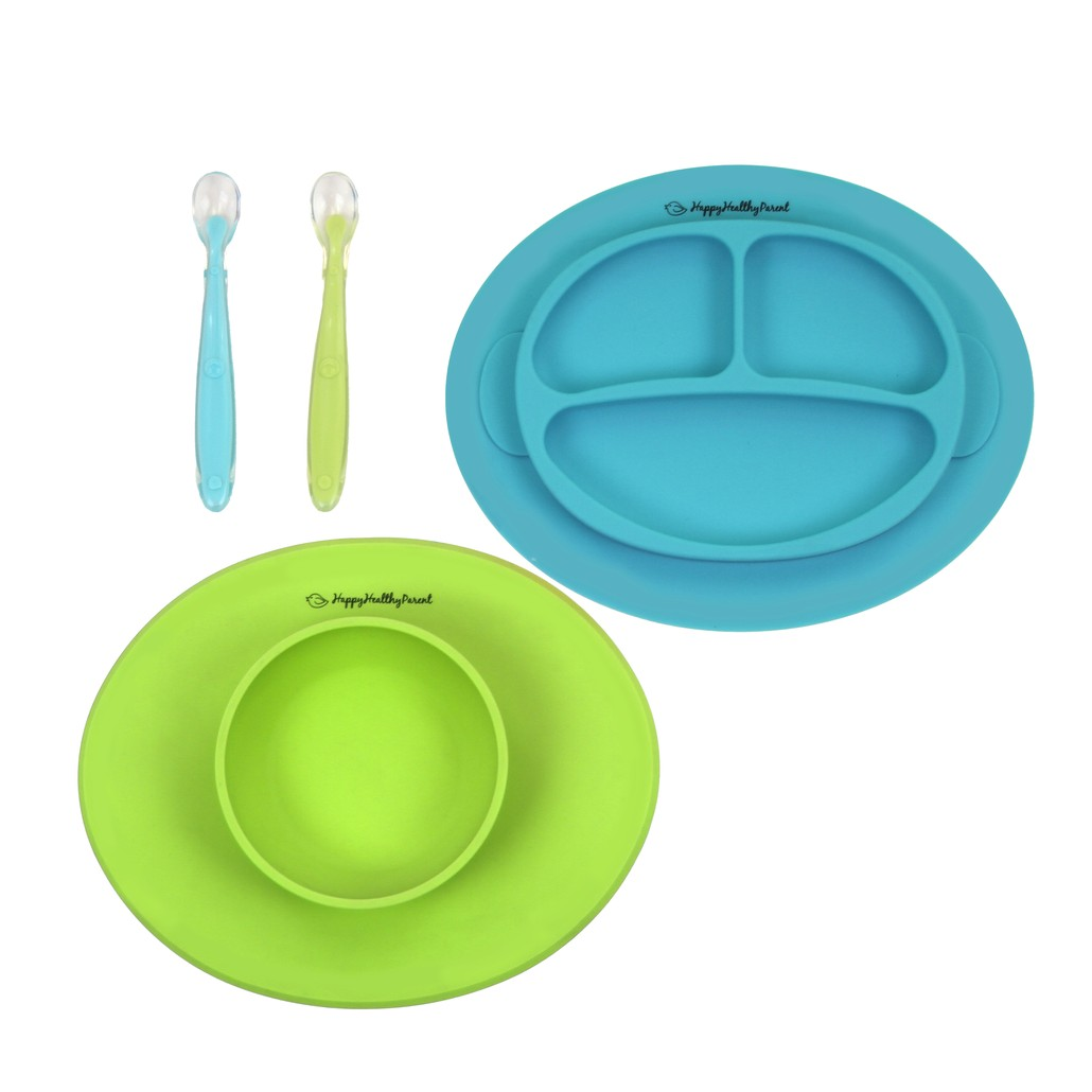 Silicone Bowl and Plate Set