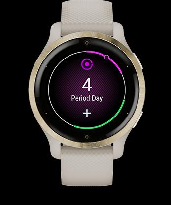 Garmin Venu 2 GPS Smartwatch - Women's Health Tracking