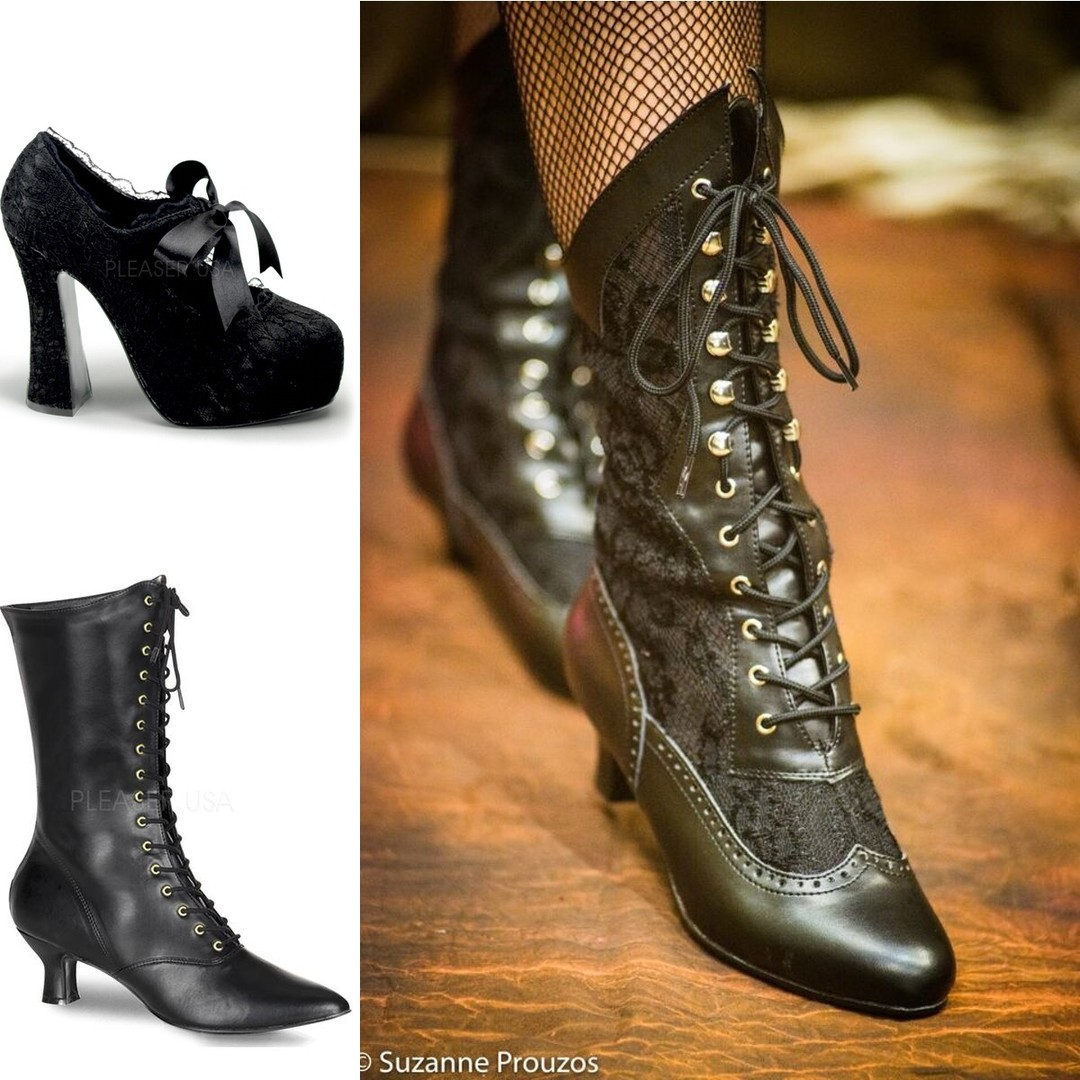 we added boots and goth shoes in, there are still some left at crazy below cost prices