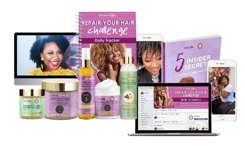 Repair Your Hair Challenge