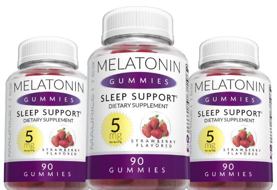 Melatonin 5 mg Gummies 3 Pack