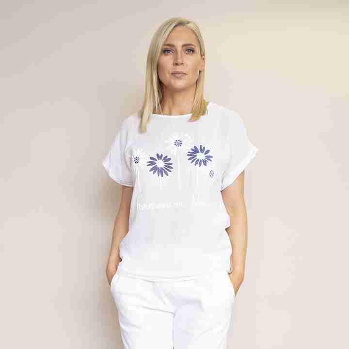 Camila T-Shirt (White)