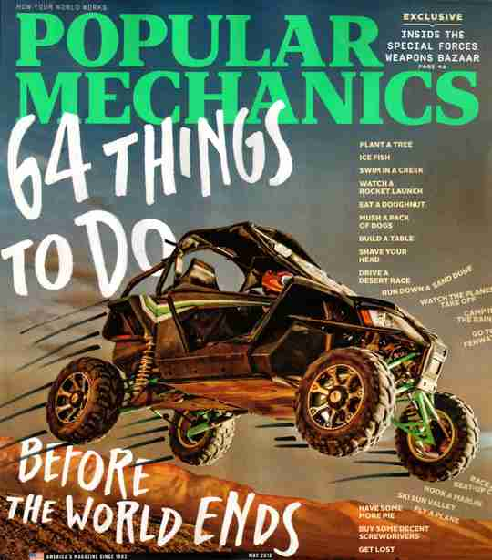Popular Mechanics - 64 Things To Do Before the World Ends