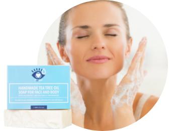 Demodex Relief Kit - Tea Tree Oil Face & Body Soap