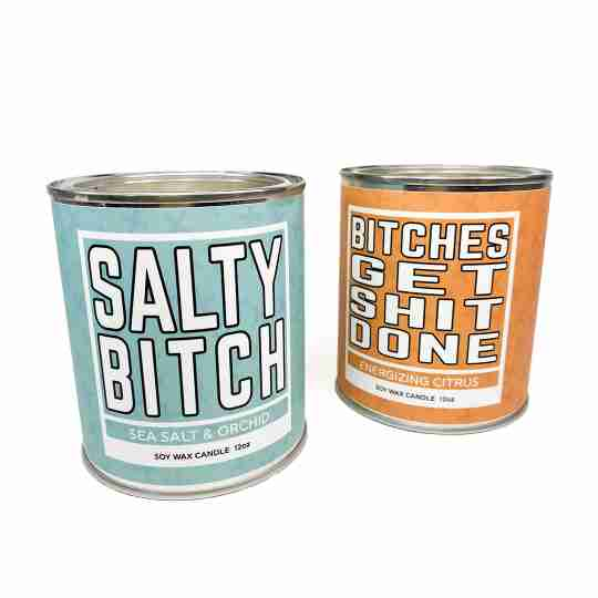 Novelty Rude candle | novelty gift | sweaty | gifts for her | gifts for him | Twisted Wares