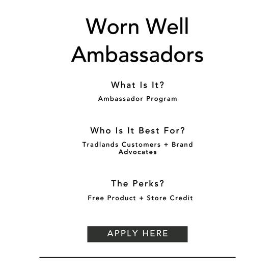 Worn Well Ambassador Application