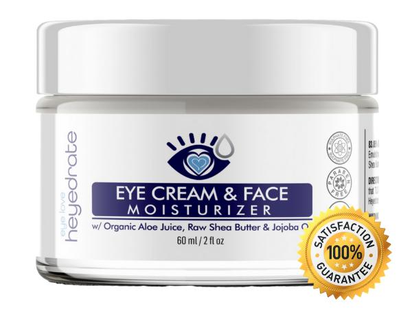 Heyedrate Eye Cream & Face Moisturizer