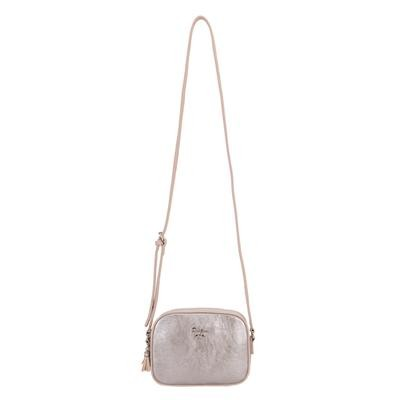 Carrie Classic Crossbody Silver