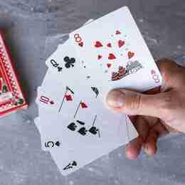 Christmas Playing Cards