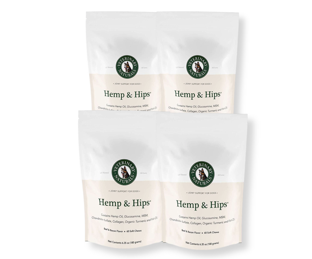 Hemp & Hips 4 Pack 20% Off