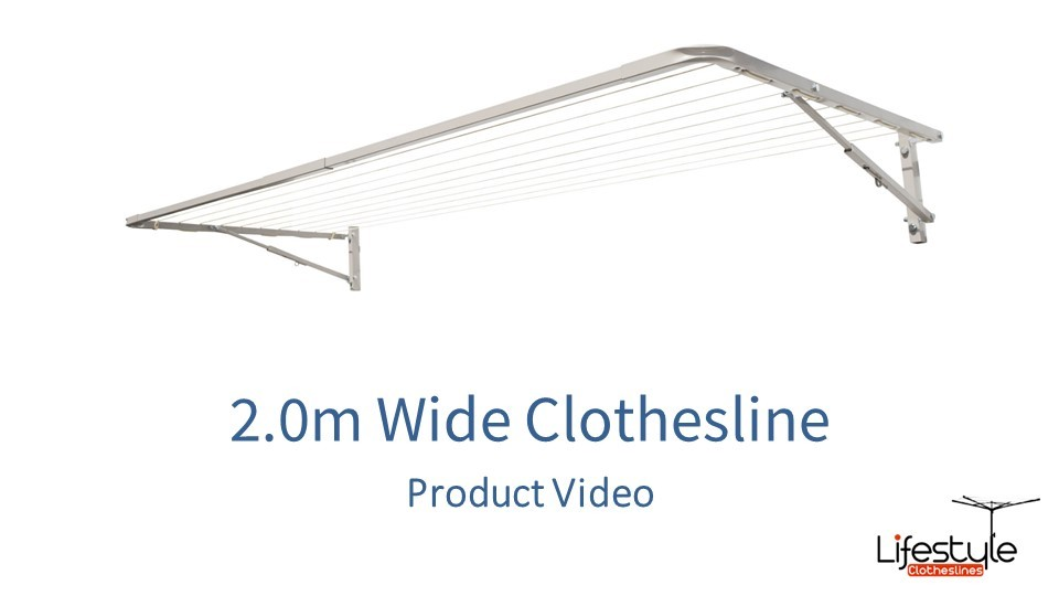 2.0m wide clothesline product link