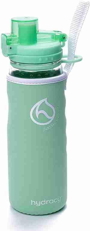 Infuser Water Bottle 25oz - Aqua Green - Sleeve
