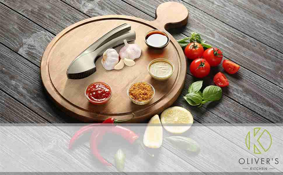 Oliver's Kitchen Garlic Presser