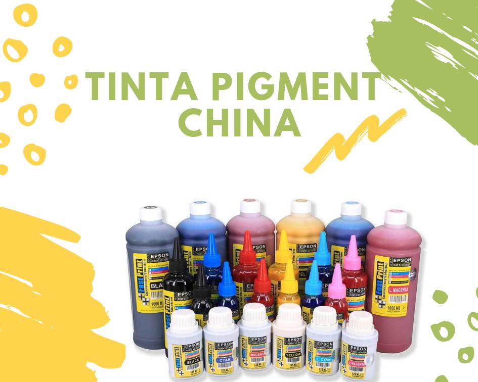 tinta pigment china