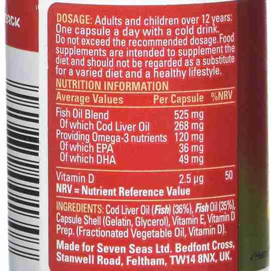 Cheap low quality fish oil nutrition information