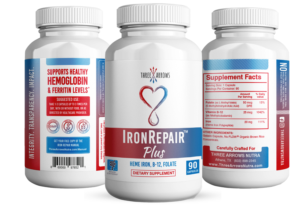 Iron Repair iron pills easy on stomach