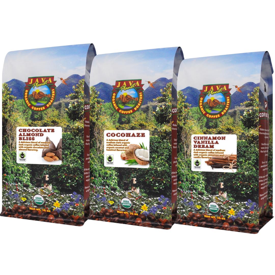 Flavored Organic Coffee Set