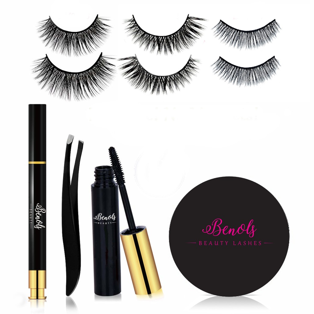 Magic Eyeliner and 3 Pairs False Lash Kit - Ever Ready Collection - Limited Edition