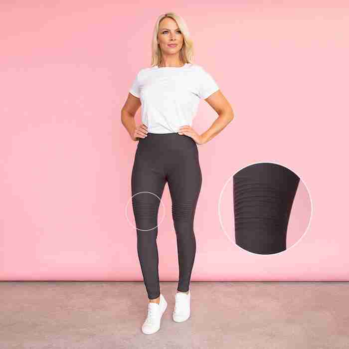 Jade Biker Spandex Legging(Black)