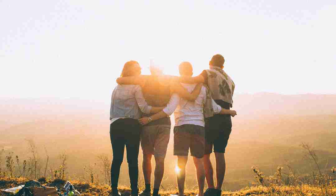 Importance of Vitamin D in the sun with friends