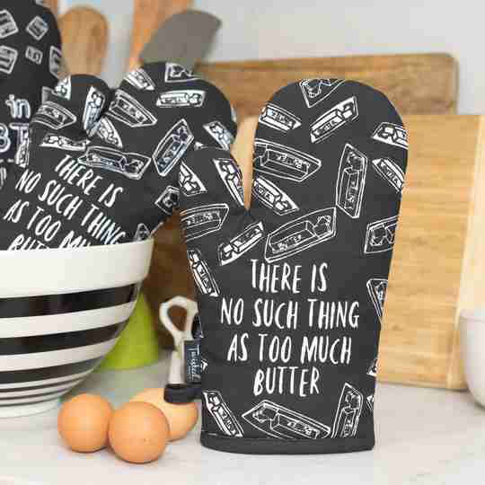 Pun Intended Oven Mitts | Twisted Wares®