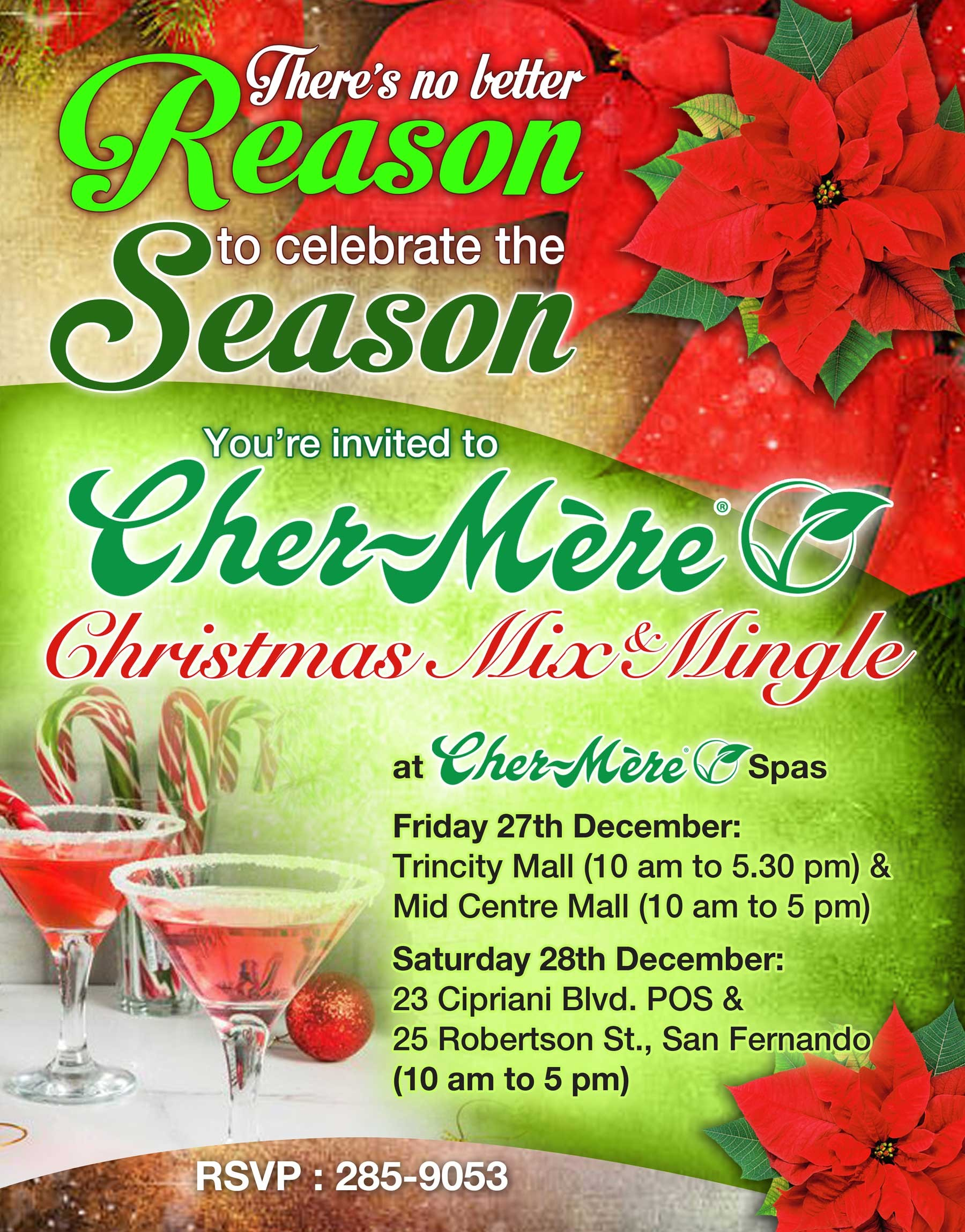 Holiday Mix and Mingle