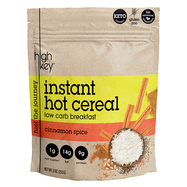 HighKey Cinnamon Spice Instant Hot Cereal Keto Prime Deal