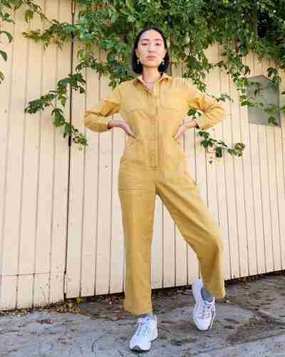 Women's Utility Coverall | Tradlands Guide Coverall in Honey