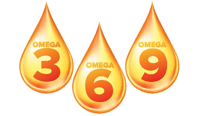 omegas 3, 6 and 9