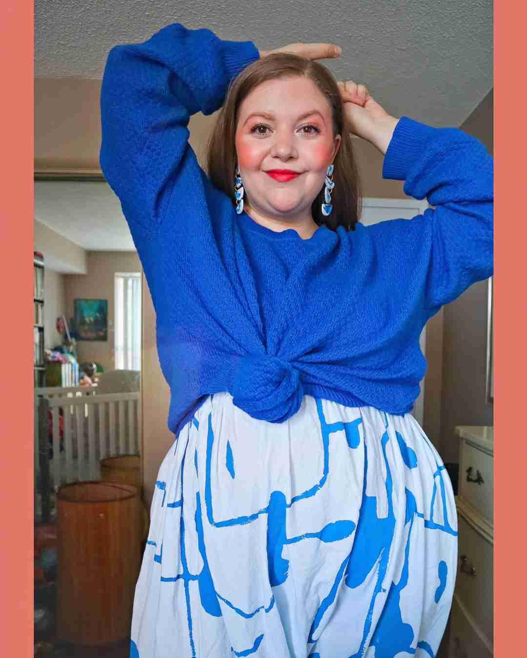 Ambassador Jen | Jude Pullover Sweater Royal Blue