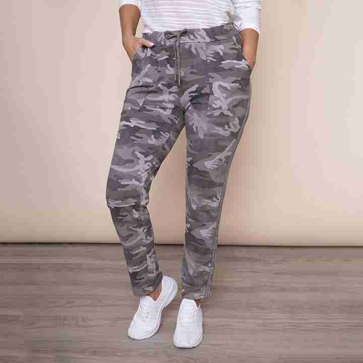 Military Style Jegging(Taupe)