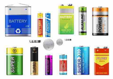 Kinds of batteries