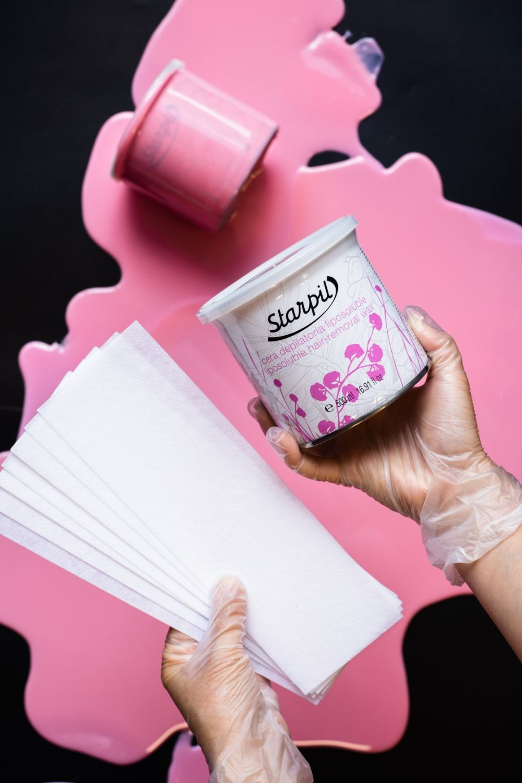 Starpil Pink Soft wax strips