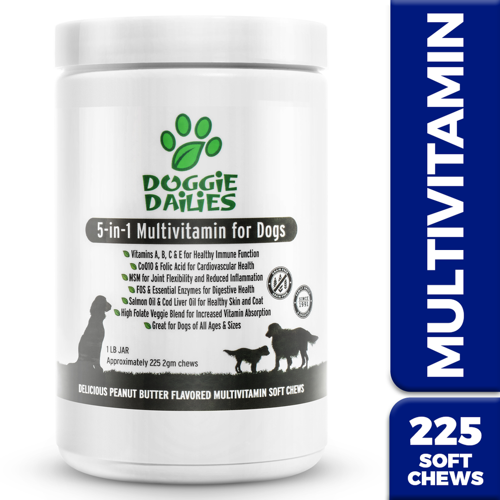 5-in-1 Multivitamin for Dogs