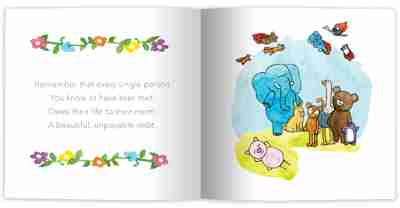 Zen Pig A Mindful Mother's Day Internal Book Page
