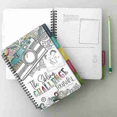 Sibling journal for kids