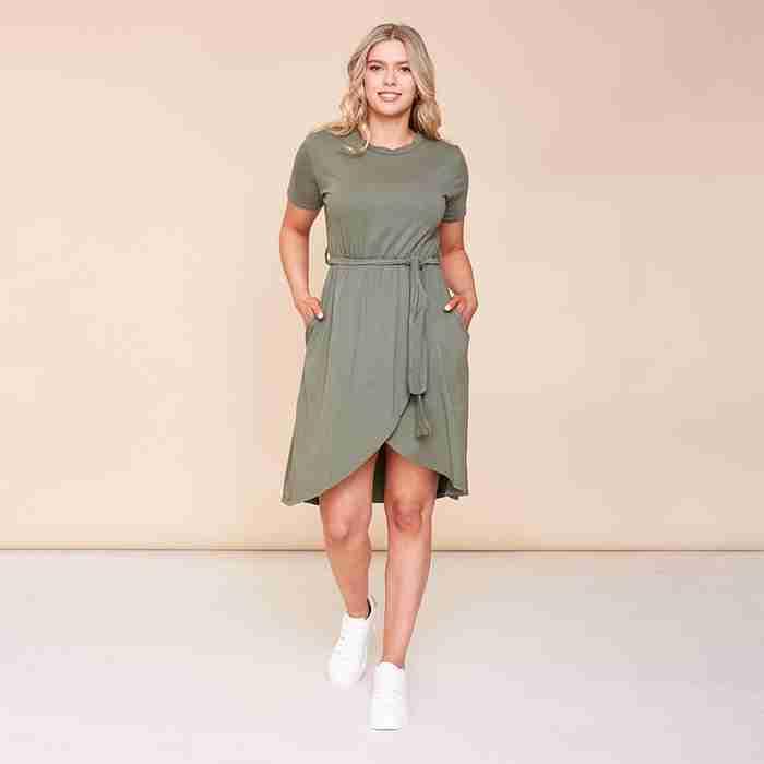 Peyton Dress (Khaki)