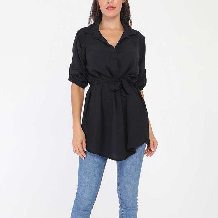 Tessa Shirt Black