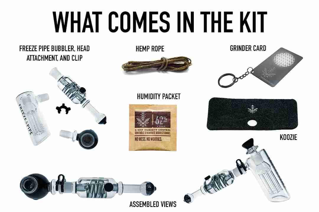 Freeze Pipe Bubbler kit