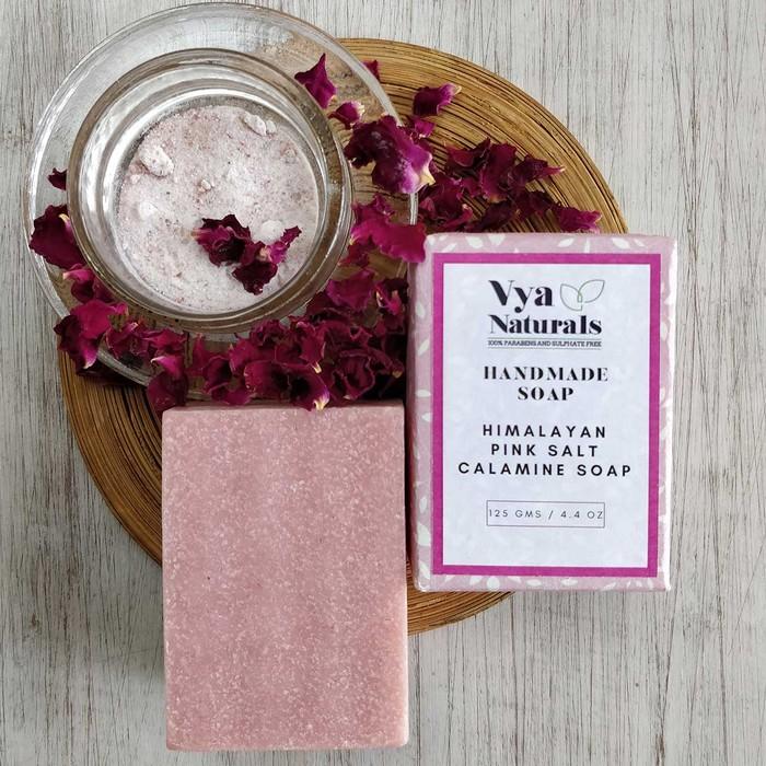 HIMALAYAN PINK SALT CALAMINE HANDMADE SOAP