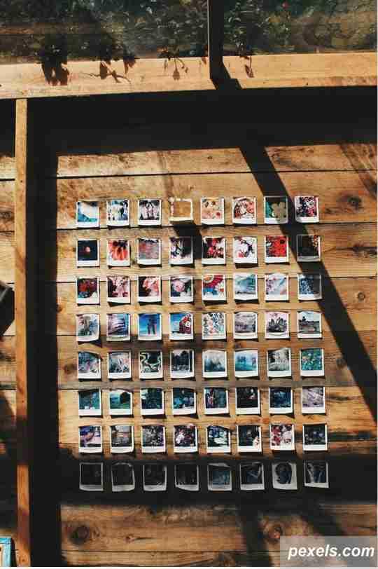 album foto, gambar, desain untuk kalender